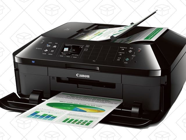 If You Print Out Photos, This Discounted Canon All-In-One Might Be The Printer For You