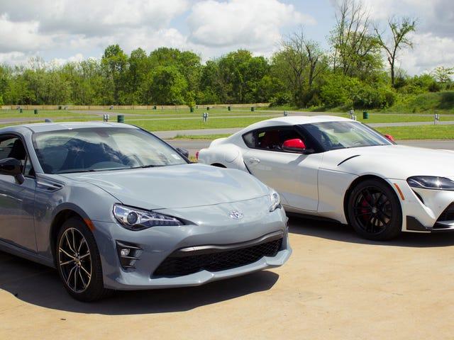 Toyota Supra 2020 so với Toyota 86 như thế nào trong lái xe trong thế giới thực