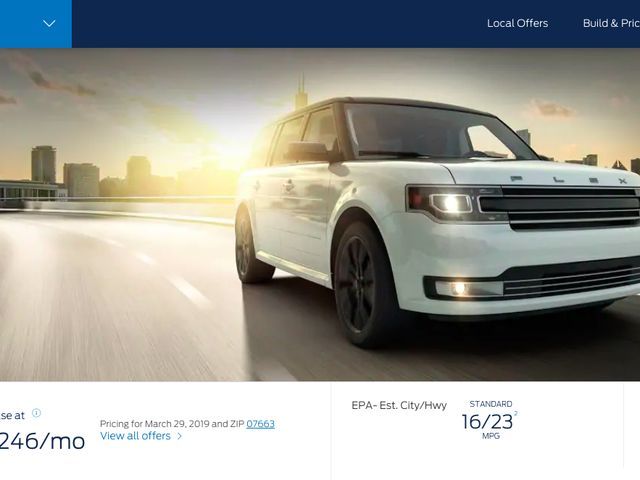 It Has Come to My Attention That the Ford Flex Is Still on Sale