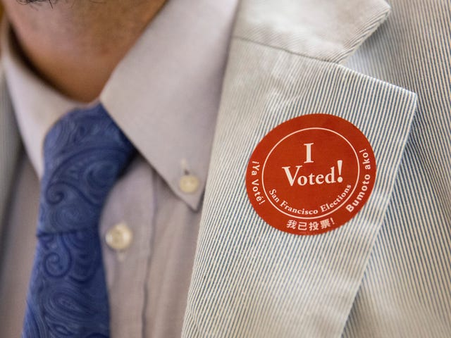 Print Your Own 'I Voted' Sticker If You Didn't Get One