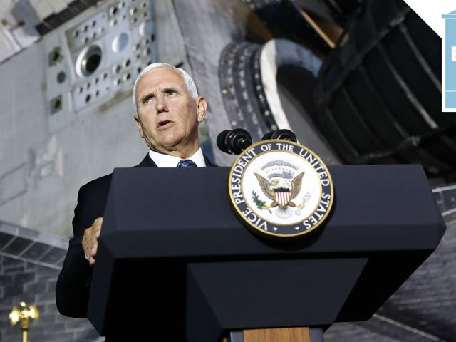 Space Pence Is Ready to Do Space Force