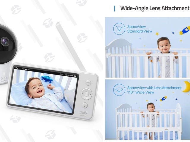 Save $35 On Anker's New Baby Monitor, Which Skips the Cloud and Keeps Things Private