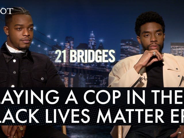 21 Bridges: Yes, Chadwick Boseman Was Conflicted Portraying a Black Cop