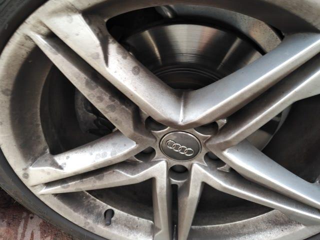 Bugün temiz.  Audi A5 S-Line geri çekilme.