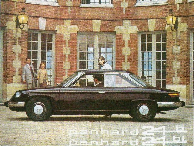 Panhard 24 var den sidste Panhard-brandede model, før Citroën gabbede virksomhedens bilproduktion