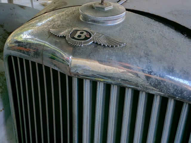 Bentley barn find; what the hell is this?