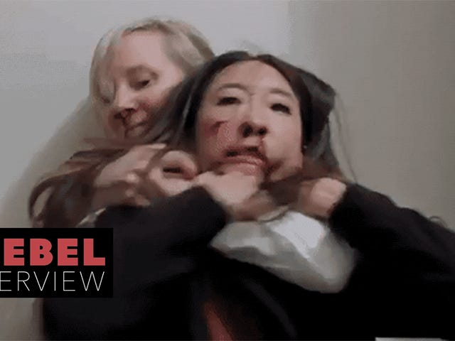 A Chat With Sandra Oh and Anne Heche About Rage, Violence, and Their Timely New Film Catfight