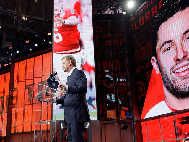 Baker Mayfield Receives Honor Of Being Next Doomed Cleveland QB