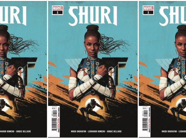 Black Girl Magic Meets Marvel: Nnedi Okorafor Unveils New Shuri Comic