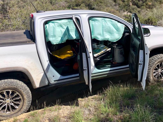 Chevrolet Colorado Side Curtain Airbags Keep Deploying On Easy Off-Road Trails