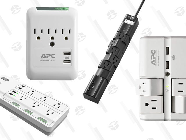 Protect and Power Your Electronics With Today's APC Gold Box Deals