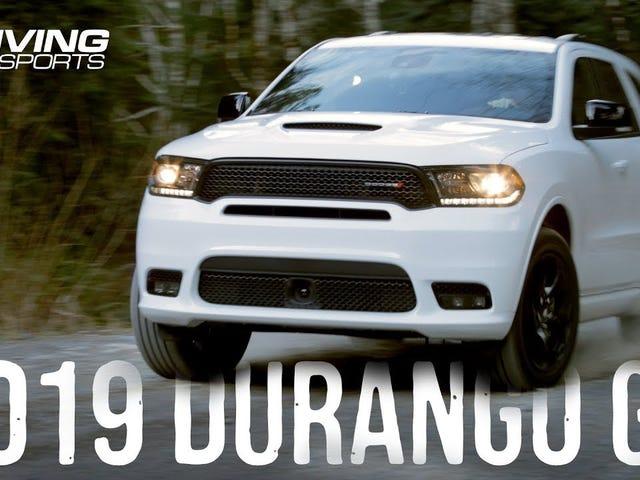 2019 Dodge Durango GT comentário sobre sujeira e neve