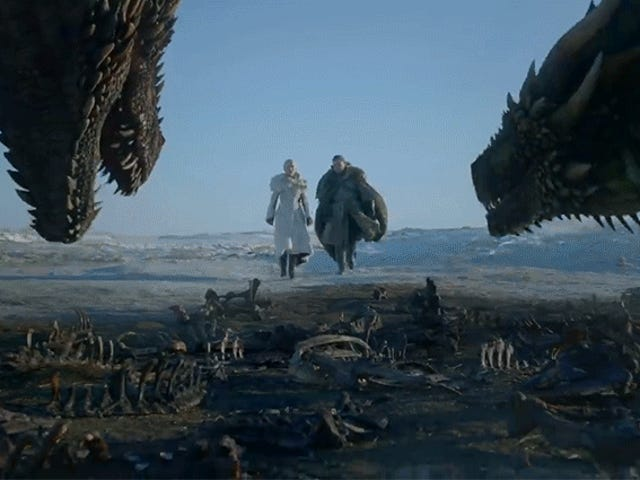 Bryta ner Doom, Förtvivlan och Big Dragon Energy of the Game of Thrones Final Season Trailer