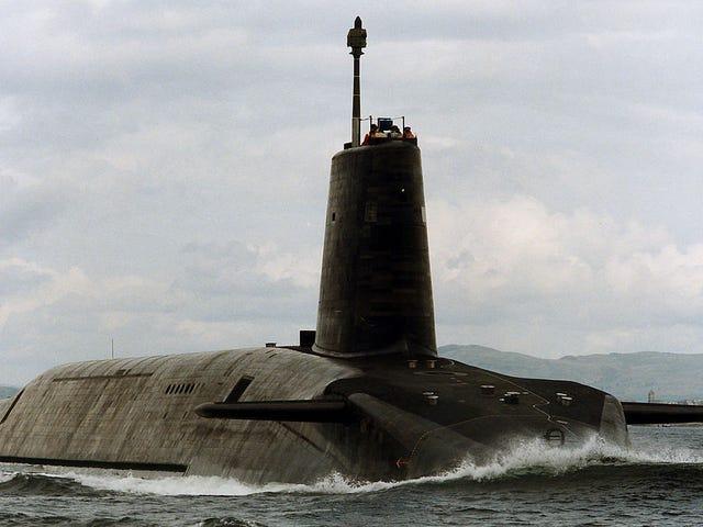 英国核世界末日的答案在于海底的保险箱