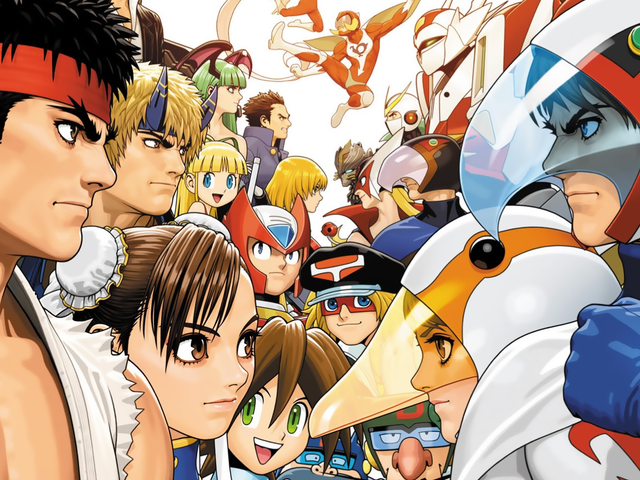 The Capcom Crossover Fighting Game People Hardly Ever Talk About