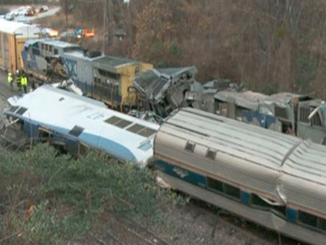 Amtrak Train Hits Freight Train In South Carolina, Killing Two And Injuring 70 (Updated)