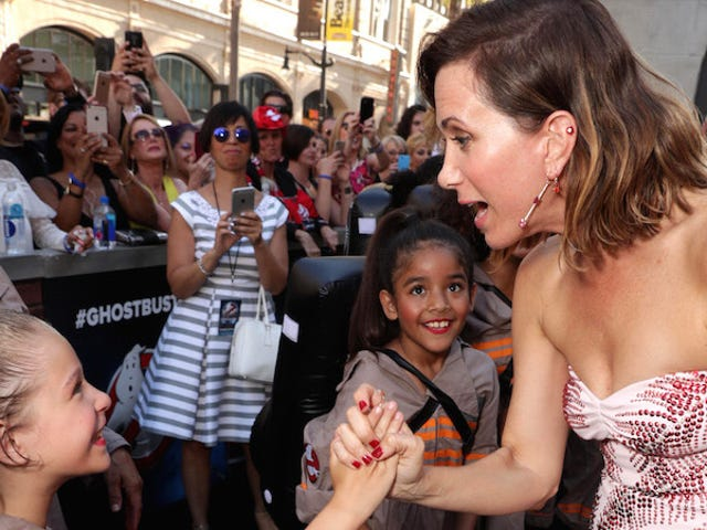 Be Inspired By These Little Girls Being Inspired at the Ghostbusters Premiere