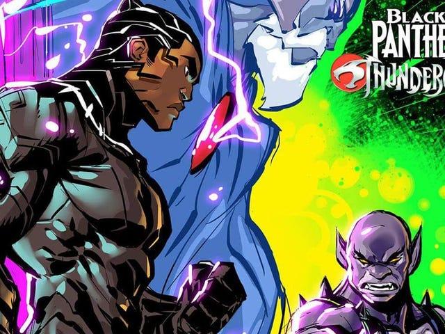 Questo incrocio Fan-Made <i>Black Panther</i> / <i>ThunderCats</i> ti perforerà proprio nella nostalgia