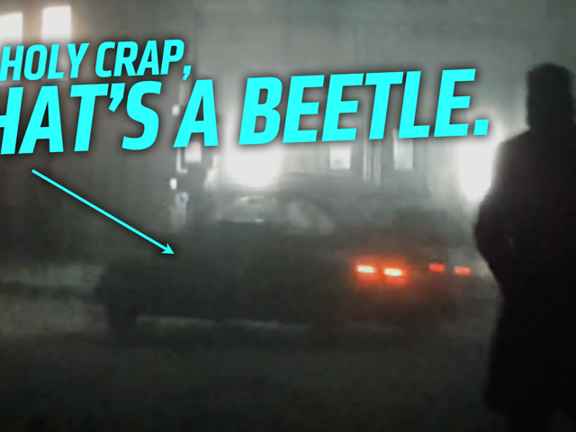 There's An Old Volkswagen Beetle In Blade Runner 2049