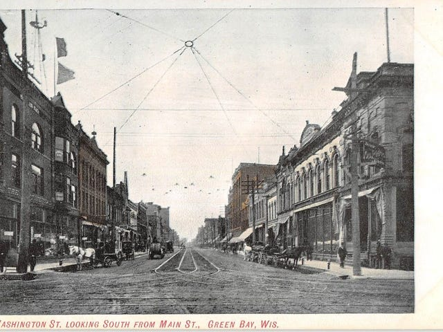 Old Hometown Photos (with many cars): Green Bay, WI