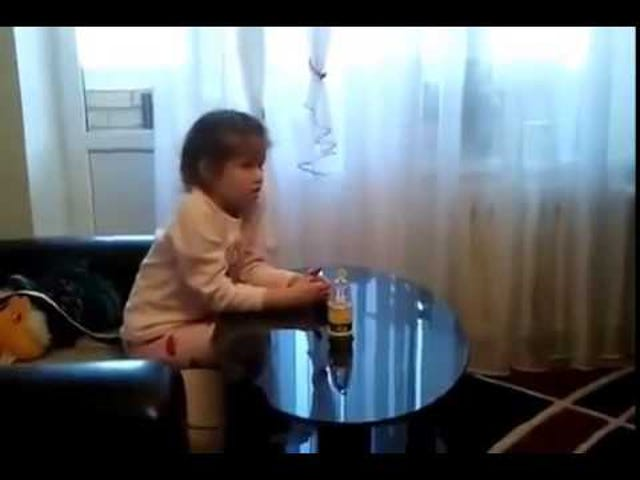 Little Girl Watches Russian Cartoon Dubbed With Actual Porn
