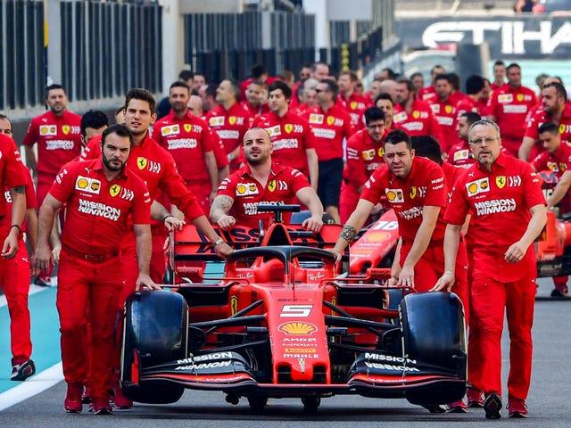 Gusto ni Ferrari Isang Babae Sa F1 Development Program nito