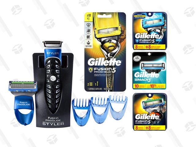 Αποθηκεύστε σε προϊόντα περιποίησης της Gillette, μόνο σήμερα