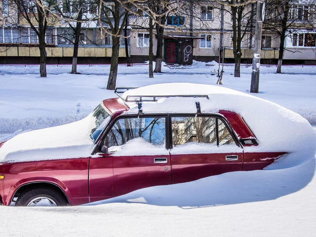 How to Rock Your Car Out of a Snowbank
