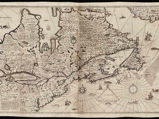 El desaire histórico escondido en el mapa de Canadá