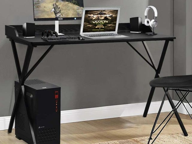 Set Up Camp On a Brand New Computer Desk For Just $40