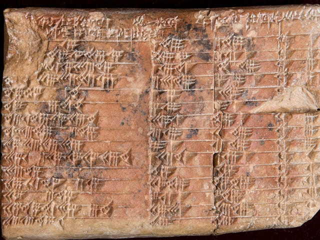 Deciphered Ancient Tablet Reveals Babylonians' Mastery Over Mathematics