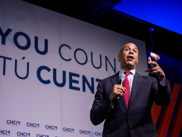 Cory Booker on Senate Beginnings: It Was 'the Least Diverse Place I Had Ever Seen'