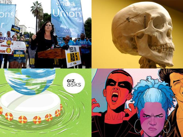 Apples store iPhone-begivenhed, Labor vinder store paneler og skelet skelet: Ugens bedste Gizmodo-historier