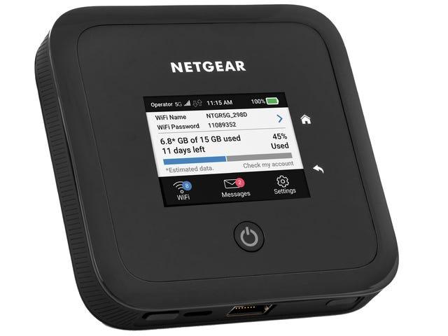 Bạn có thể thay thế tất cả phần cứng Wifi của nhà bạn bằng Bộ định tuyến 5G nhỏ bé này