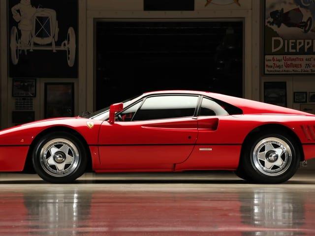 La Ferrari 288 GTO n'est pas une course folle, comme vous le pensiez