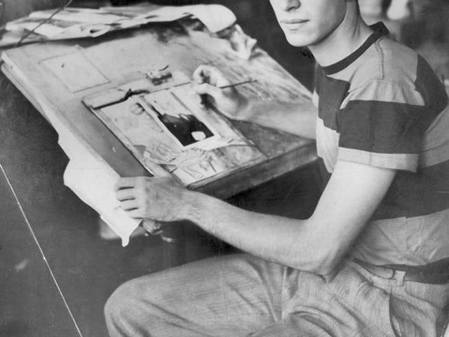 Martin Landau, kartunis