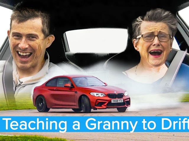 What's the big deal with drifting? Even a 70 year old Grandma could do it