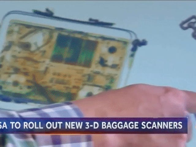 TSA Says New Tech Will Maybe, Someday Let You Keep Your Laptop in Your Bag