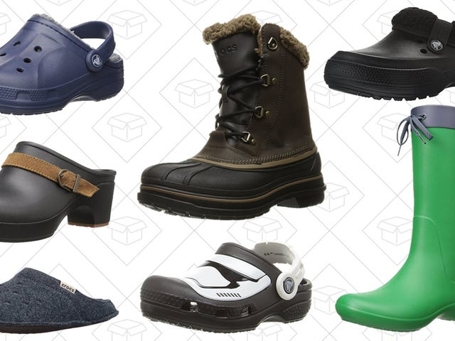 "<a href=""https://kinjadeals.theinventory.com/so-amazon-is-having-a-sale-on-crocs-1789035850"" data-id="""" onClick=""window.ga('send', 'event', 'Permalink page click', 'Permalink page click - post header', 'standard');"">So, Amazon is Having a Sale on Crocs<em></em></a>"