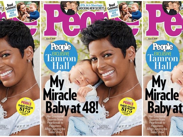 'I Was Terrified I Would Lose This Baby': Tamron Hall Reveals Baby Moses—and Her Pregnancy Fears