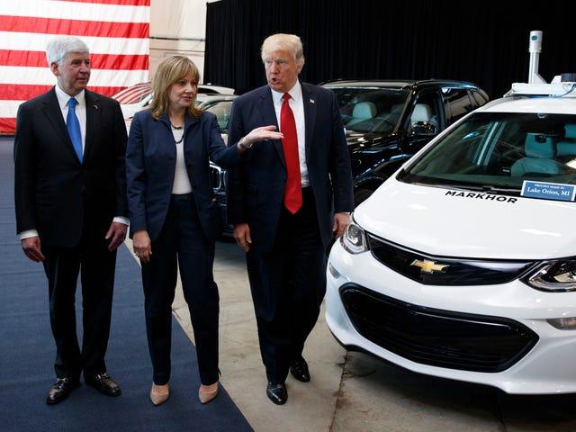 Trump tvinger GM, som allerede skulle produsere ventilatorer, for å produsere ventilatorer