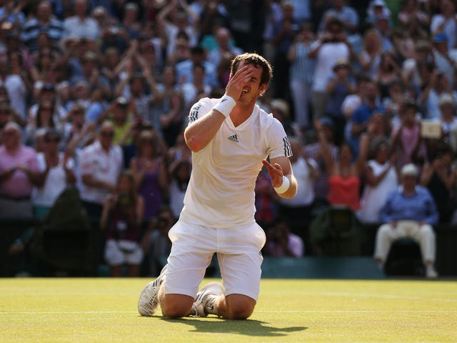 Andy Murray Was A Real Person Walking Among Gods