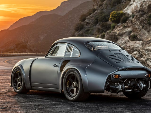 Here's the Hot-Rodded Twin-Turbo Porsche 356 of Your Wildest Dreams