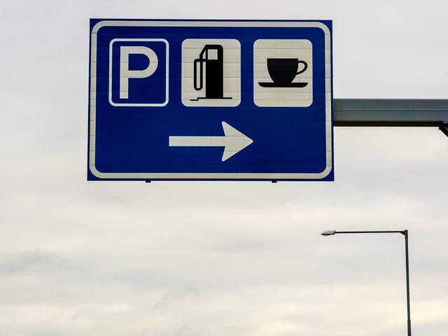 使用此应用程序查找沿公路旅行路线的最佳出口