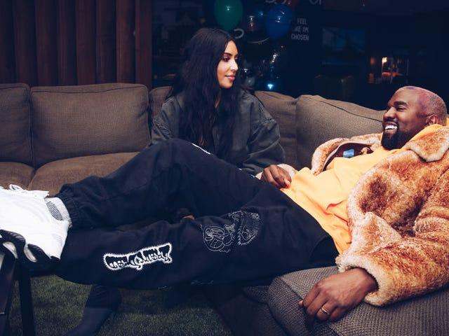 Spillet er det sidste at bide Kanye med Lyrics Om Kim