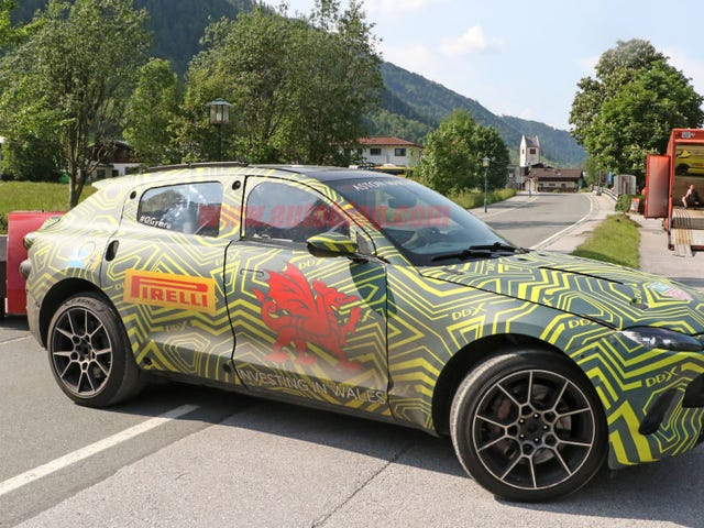 Aston-tacious DBX spotted