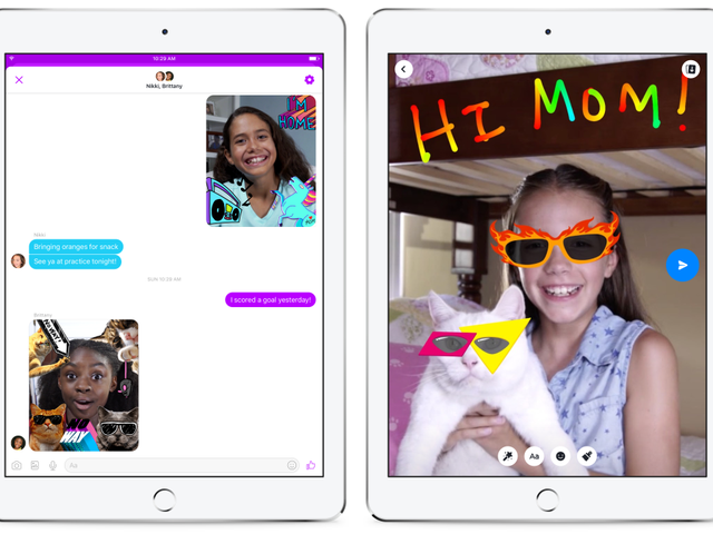 Facebook Launches New Messenger App for Young Kids—What Could Possibly Go Wrong?