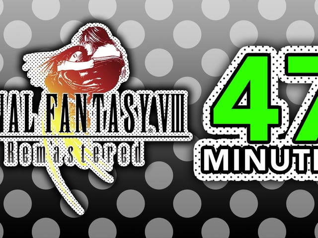 Final Fantasy VIII Remastered on paras tapa pelata Final Fantasy VIII