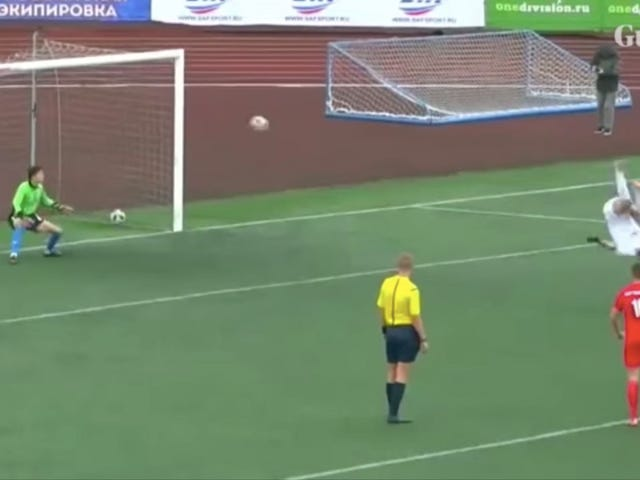 This Is The Greatest Penalty Kick Of All Time