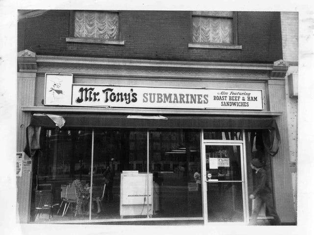 Sándwich del día: Submarinos del Sr. Tony